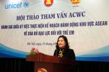 Tham vấn kế hoạch khu vực Asean về xóa bỏ bạo lực trẻ em