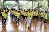 Khai giảng lớp khí công Himalaya cho trẻ em có hoàn cảnh đặc biệt