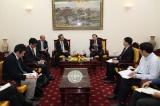 Minister Dao Ngoc Dung receives New Japanese Ambassador to Vietnam