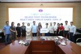 Công ty Sao Thái Dương trao tặng 50 nghìn Test Kid chẩn đoán Covid-19 trị giá 20 tỷ đồng ủng hộ công tác phòng chống dịch