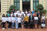 21 học sinh con em cán bộ Bộ LĐTB&XH lên đường sang Nhật Bản giao lưu