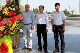 Đoàn công tác Tạp chí Lao động và Xã hội thăm, làm việc với Sở Lao động - TBXH tỉnh Quảng Trị và viếng Nghĩa trang Liệt sỹ Đường 9