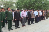 Thành phố Ninh Bình dâng hương tưởng niệm các Anh hùng Liệt sỹ