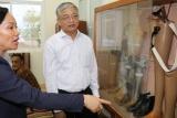 Thứ trưởng Doãn Mậu Diệp thăm và làm việc tại Lào