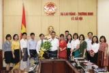 Đồng chí Hà Đình Bốn nhận quyết định nghỉ hưu hưởng chế độ BHXH