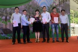 Trao Giấy chứng nhận quyền sử dụng đất cho khách hàng tại Dự án Phú Hồng Khang  và Phú Hồng Đạt tại Thị xã Thuận An