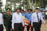 Đắk Lắk tổ chức lễ truy điệu và an táng 17 hài cót liệt sĩ quân tình nguyện, chuyên gia Việt Nam hy sinh tại Campuchia