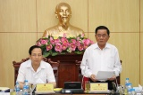Đoàn Kiểm tra của Ban Bí thư làm việc với Ban Cán sự Đảng Bộ Lao động - Thương binh và Xã hội