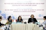 Hội thảo tham vấn dự thảo báo cáo nghiên cứu về quyền tiếp cận tư pháp của phụ nữ theo công ước CEDAW