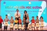 Từng bừng ngày hội sữa học đường Đà Nẵng