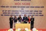 Ký kết Chương trình phối hợp giữa Bộ Lao động – Thương binh và Xã hội và Trung ương Hội LHPN Việt Nam giai đoạn 2019 – 2022