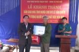 Xã Phú Kim (huyện Thạch Thất) khánh thành nhà tình nghĩa cho đối tượng chính sách