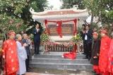 Quận Bắc Từ Liêm gắn biển địa điểm lưu niệm sự kiện cách mạng kháng chiến chùa Thượng Cát
