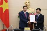 Trao Quyết định bổ nhiệm Viện trưởng Viện Khoa học Lao động và Xã hội