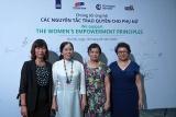 21 lãnh đạo doanh nghiệp tại Việt Nam ký tuyên bố ủng hộ nguyên tắc trao quyền cho phụ nữ