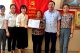 Quỹ TYM hỗ trợ phụ nữ nghèo Vụ Bản