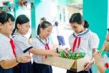 Nestlé MILO khuyến khích học sinh tham gia thu gom, tái chế vỏ hộp sữa thành vật dụng hữu ích