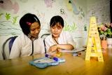 Trẻ em khuyết tật vượt rào cản trong giáo dục