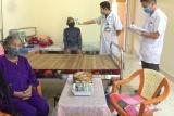 Quảng Ninh: Chăm sóc sức khỏe, chủ động phòng chống dịch bệnh Covid -19 cho người cao tuổi tại Trung tâm Bảo trợ xã hội
