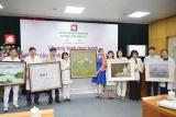 Lần thứ 5 liên tiếp, Quỹ tranh Butta sweet life  trao tặng 35 bức tranh sơn dầu cho Bệnh viện Châm cứu Trung ương