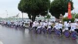 Đạp xe diễu hành hưởng ứng Tháng phòng chống cháy nổ 2018