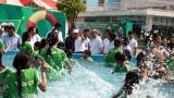 Phát động toàn dân tập bơi, phòng chống đuối nước trẻ em