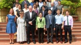 Thứ trưởng Nguyễn Thị Hà tiếp đoàn các nhà tài trợ của ILO