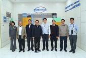Lãnh đạo Bộ Lao Động -Thương Binh & Xã Hội làm việc tại tỉnh Bắc Giang