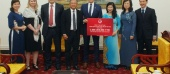 Thứ trưởng Đào Hồng Lan làm việc với Tập đoàn AIA