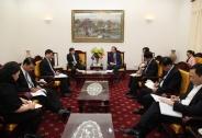 Bộ trưởng Đào Ngọc Dung tiếp Tổng Thư ký ASEAN