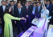 Thủ tướng Chính phủ dự Diễn đàn cấp cao và Triển lãm quốc tế về Công nghiệp 4.0