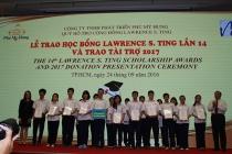 Quỹ Lawrence S.Ting trao 389 suất học bổng cho học sinh- sinh viên xuất sắc
