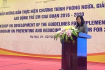1.754.000 trẻ em đang bị cưỡng bức lao động và làm các công việc trái quy định pháp luật tại Việt Nam