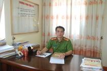Người chỉ huy mẫu mực trong công tác đấu tranh chống tội phạm