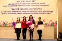 Tổng kết Dự án nâng cao năng lực về bình đẳng giới