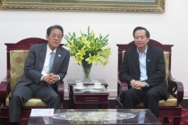 Minister Dao Ngoc Dung welcomed Ambassador of Japan in Vietnam