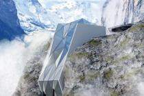 Khách sạn cheo leo trên vách núi cao nhất châu Âu