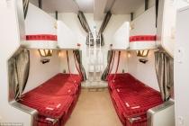 Hết khách sạn con nhộng, Nhật Bản lại 'gây sốt' với khách sạn tàu hỏa