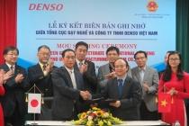 Công ty THHH Denso Việt Nam hỗ trợ huấn luyện thí sinh tham dự kỳ thi tay nghề thế giới lần thứ 44, năm 2017