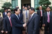 Việt Nam và Campuchia tăng cường hợp tác phòng,chống ma túy