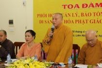 Tăng cường phối hợp bảo tồn, phát huy giá trị di sản văn hóa Phật giáo Việt Nam