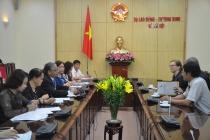 Thứ trưởng Doãn Mậu Diệp tiếp đón Tổng Vụ trưởng Bộ Hợp tác và Phát triển Kinh tế CHLB Đức