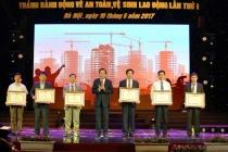 Bộ trưởng Đào Ngọc Dung phát động Tháng hành động về An toàn vệ sinh lao động năm 2017