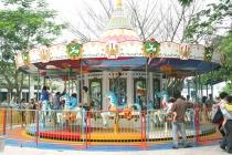Công viên Hồ Tây - điểm vui chơi hấp dẫn của trẻ em vào ngày 1.6
