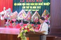 Thừa Thiên Huế: Khai mạc Hội giảng nhà giáo giáo dục nghề nghiệp năm 2017