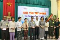 Thừa Thiên Huế: Tổ chức hội thi tay nghề cho người mù năm 2017