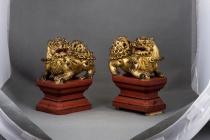 Trưng bày sưu tập đồ gỗ sơn son thiếp vàng tại Bảo tàng Lịch sử quốc gia