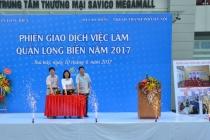Long Biên tổ chức Phiên giao dịch việc làm năm 2017