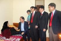Huyện Ứng Hòa: Tập trung chăm sóc người có công nhân dịp kỷ niệm 70 năm ngày Thương binh, Liệt sỹ