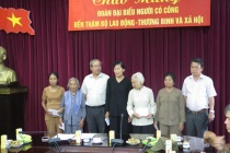 Lãnh đạo Cục người có công tiếp Đoàn đại biểu người có công tỉnh Đồng Nai